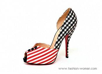 Яркие туфли от Сhristian Louboutin