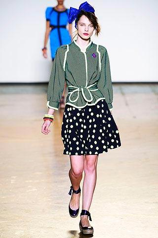 юбка в горошек от Marc-by Marc Jacobs