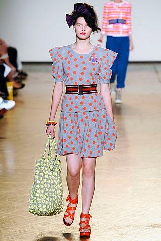 платье в горошек от Marc-by Marc Jacobs