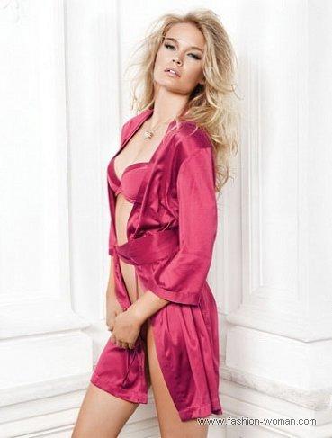 шелковый халат от Incanto