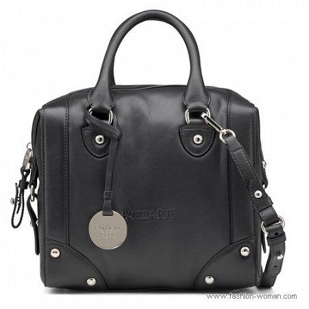 черная сумка от Patrizia Pepe