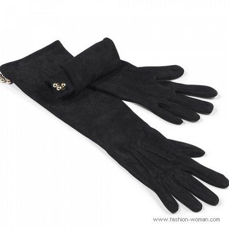 модные перчатки от Patrizia Pepe осень-зима 2010-2011