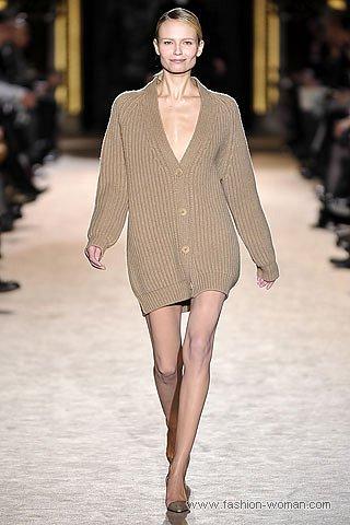модный вязаный кардиган осень-зима 2010-2011