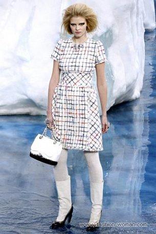 Платье от Шанель осень-зима 2010-2011
