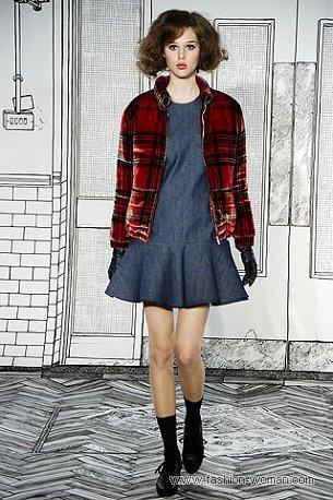 Модная куртка осень 2010