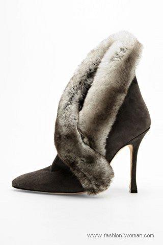 Модная обувь от Manolo Blahnik осень-зима 2010-2011