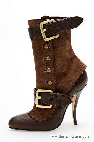 Модная обувь на каблуке осень-зима 2010-2011