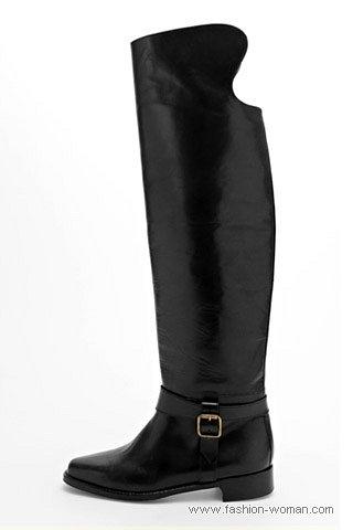 Модные сапоги от  Manolo Blahnik осень-зима 2010-2011