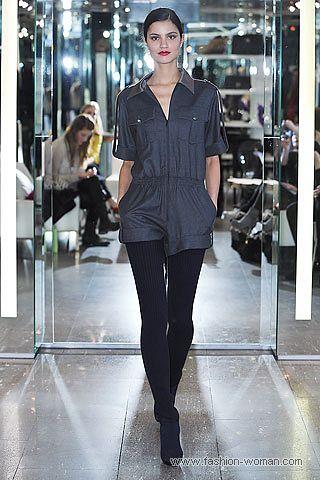 Модные комбинезоны с шортами осень-зима 2010-2011