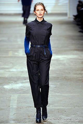 модный классический комбинезон осень 2010