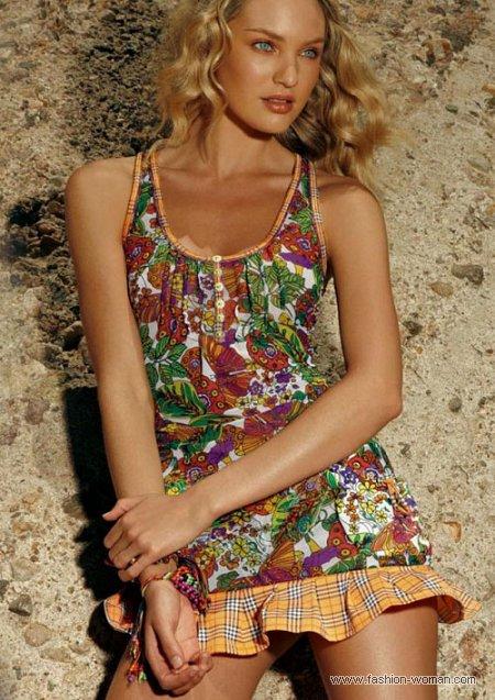 пляжное платье от  Agua Bendita лето 2011