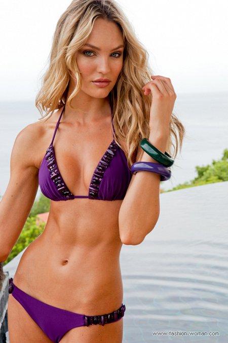 фиолетовой купальник Sauvage весна-лето 2011