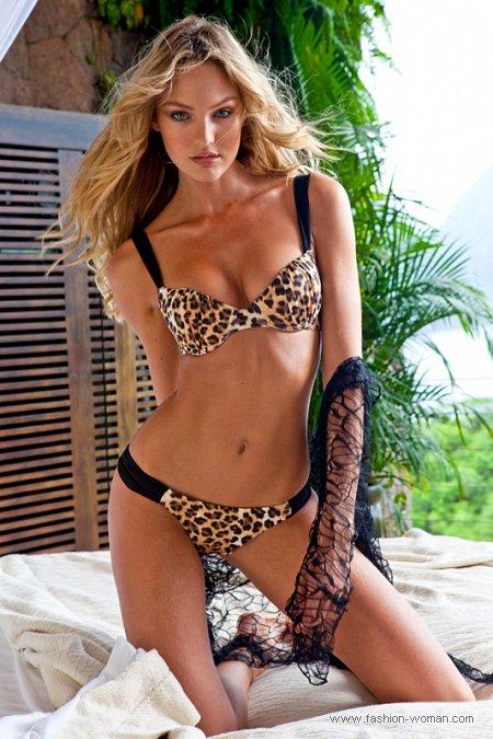 тигровый купальник от Sauvage