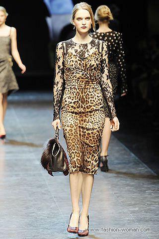 Dolce Gabbana осень-зима 2010-2011