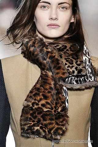 Аксессуары с леопардовым принтом