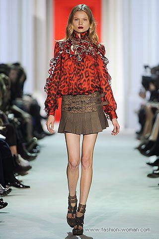 Модная блуза с леопардовым принтом