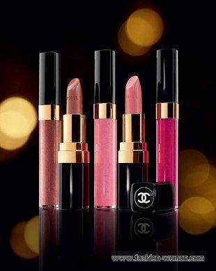 помады и блески от Chanel