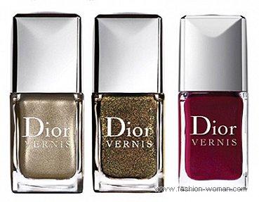 лак для ногтей из праздничной коллекции Dior