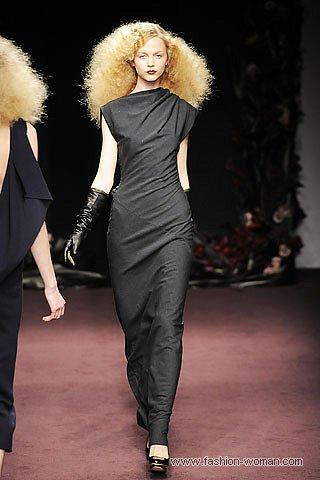 Модное платье зима 2011