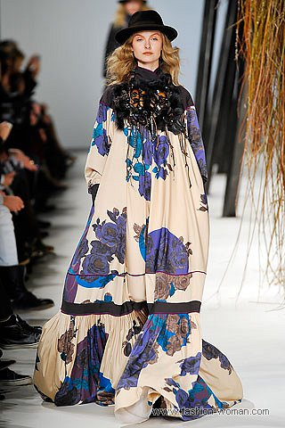 Макси платье от Кензо