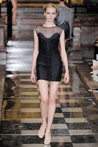 Маленькое черное платье от antonio berardi