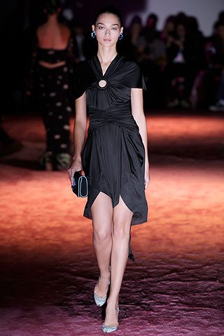Маленькое черное платье  Zac Posen