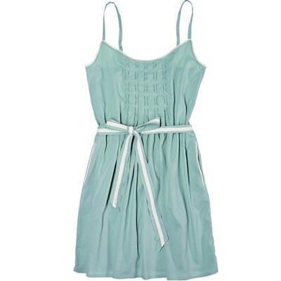 бирюзовое домашнее платье