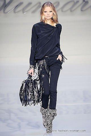 модные узкие брюки осень-зима 2010-2011