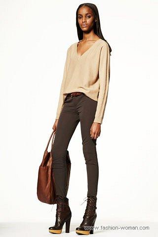 модные узкие брюки 2011