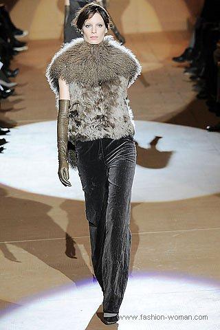 бархатные брюки зима 2011