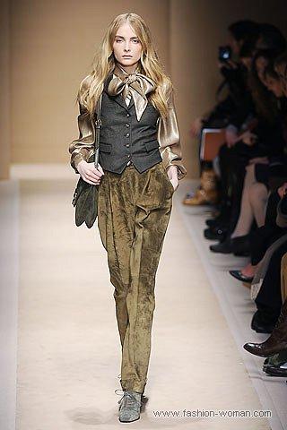 модные бархатные брюки