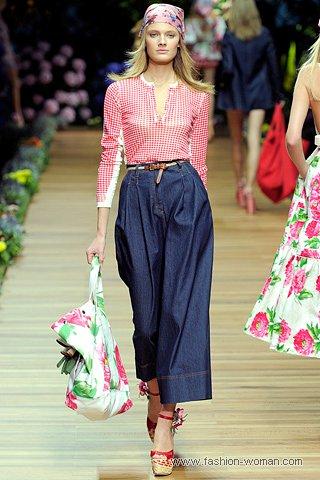 Широкие джинсы от -D&G