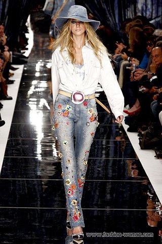 Модные джинсы от Just Cavalli