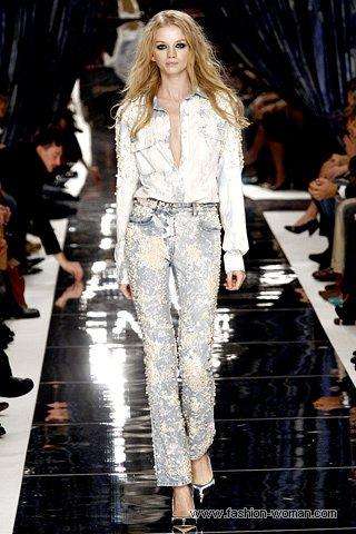 Модные джинсы-варенки весна-лето 2011