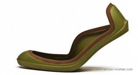 модные галоши для обуви на каблуке