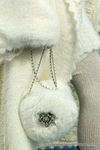 Сумки из меха зима 2010-2011