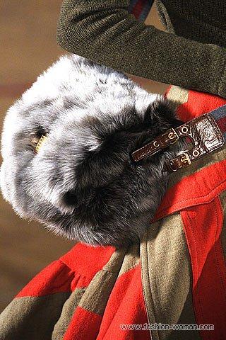 Меховая сумка от Марк Джейкобс