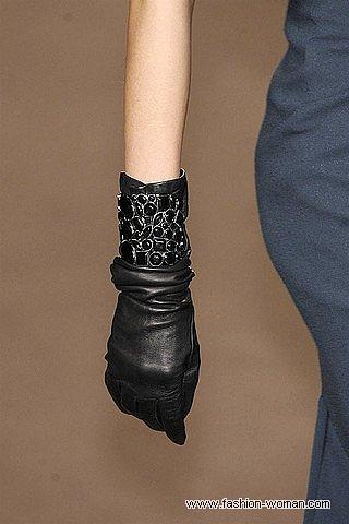 Стильные перчатки от  Elie Saab
