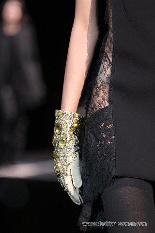 Перчатки от Givenchy