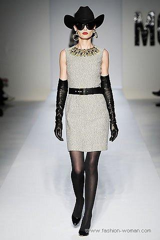 Модные длинные перчатки от Moschino