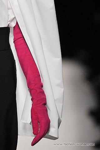 Модные высокие перчатки осень-зима 2010-2011