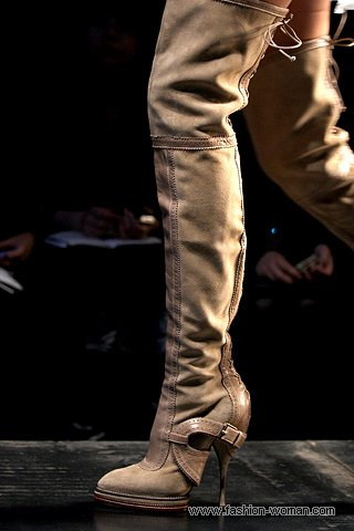 Модные ботфорты осень-зима 2010-2011