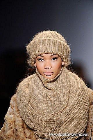 Модный шарф зима 2011