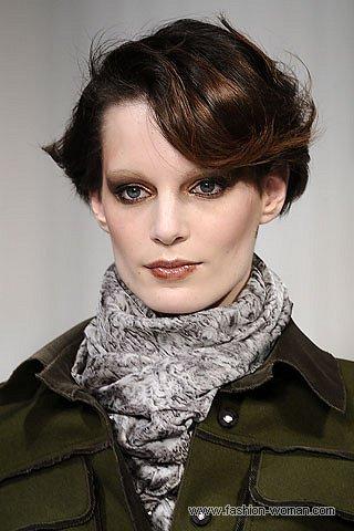 Модный шелковый шарф