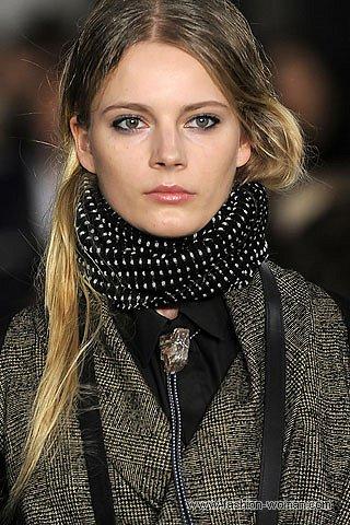 Модные аксессуары зима 2011