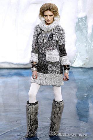 Платье-свитер от Шанель