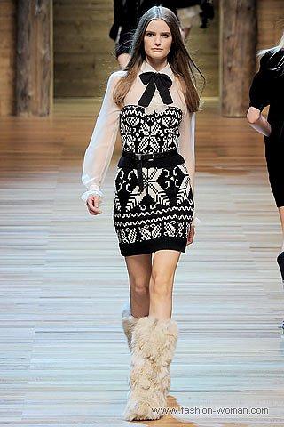 модный трикотаж 2010