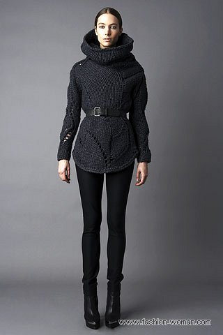модный свитер зима 2011