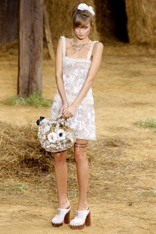 модный летний сарафан от Chanel