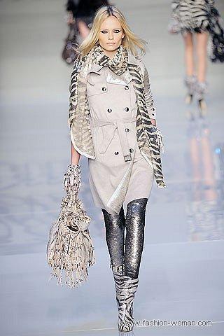 модный тренч от Blumarine осень 2010